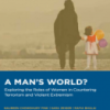 Afghan Women and CVE: What are their roles, challenges and opportunities in CVE?