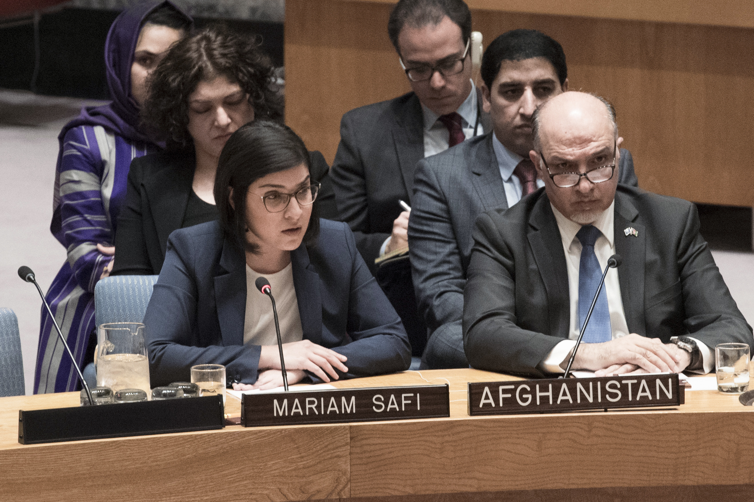 DROPS Director, Mariam Safi, brief to the UNSC on the Afghan Peace Process, 8 Mar 2018