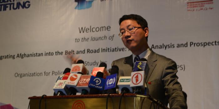 Keynote Address by China's Ambassador to Afghanistan at BRI Study Launch