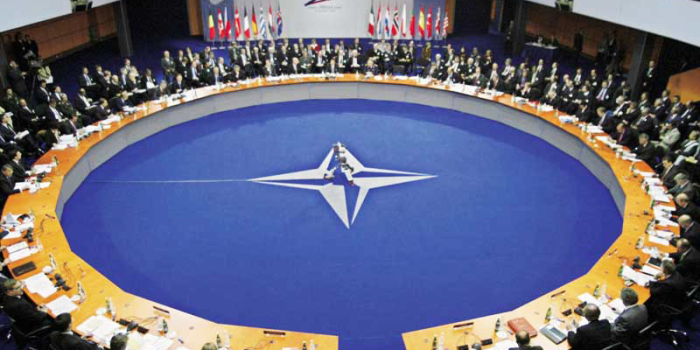 MARIAM SAFI, DROPS DIRECTOR, BRIEFS THE NORTH ATLANTIC COUNCIL NATO HQ, ON 8TH MARCH 2018