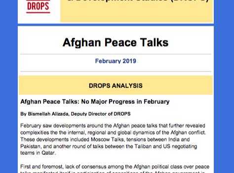 Issue 02, Afghan Peace Talks Newsletter February 2019